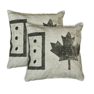 Army Tent 20-inch Throw Pillows
