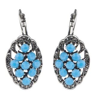 Vintage Turquoise Dangle Earrings