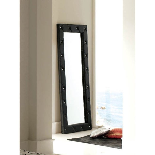 Luca Home Free Standing Mirror Black
