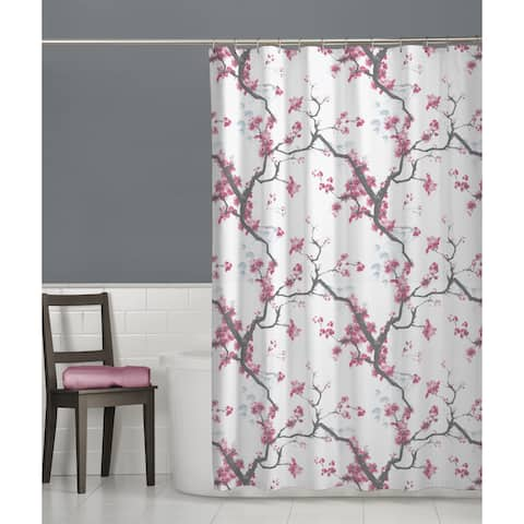Maytex Cherrywod Fabric Shower Curtain