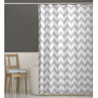 Grey Shower Curtains - Overstock.com - Vibrant Fabric Bath Curtains
