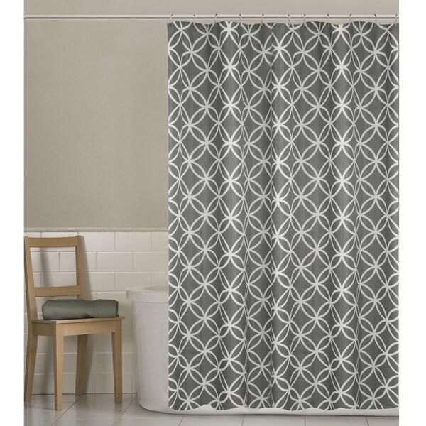 Maytex Emma Fabric Shower Curtain