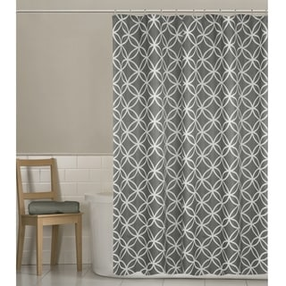 Maytex Emma Fabric Shower Curtain