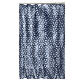 Maytex Mark Fabric Shower Curtain