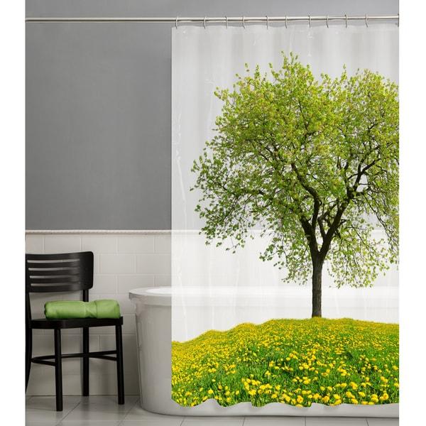 """Maytex Seasons PEVA Shower Curtain - 70"""" X 72"""""""