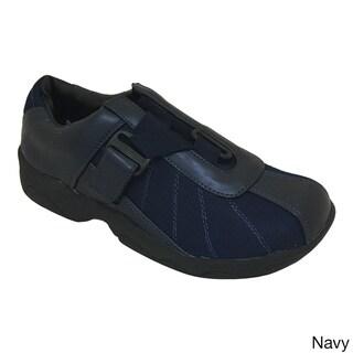 Madness Women's Comfort Athletic Sneaker with Velcro Strap, Non Slip