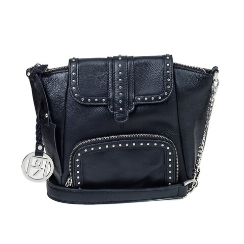 Handmade Phive Rivers Leather Crossbody Bag - PR1029 - One Size (Italy)