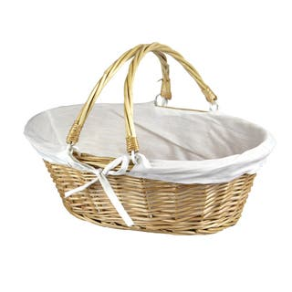 Oval Willow Basket with Double Drop Down Handles|https://ak1.ostkcdn.com/images/products/10747122/P17802015.jpg?impolicy=medium