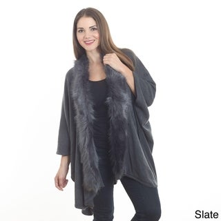 Saro Women's Faux Fur Wrap