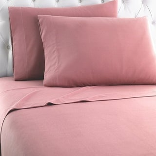 Micro Flannel Solid Sheet Sets