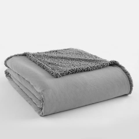 Shavel Micro Flannel? Reverse to Sherpa Blanket