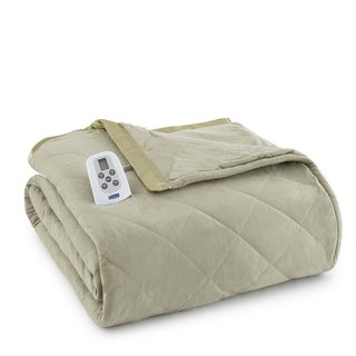 Micro Flannel Electric Heated Blanket
