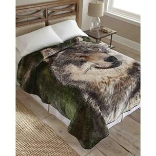 Hi Pile Raschel Knit 90-inch Oversized Blanket