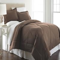 Shavel Micro Flannel Solid Color Comforter Mini Set