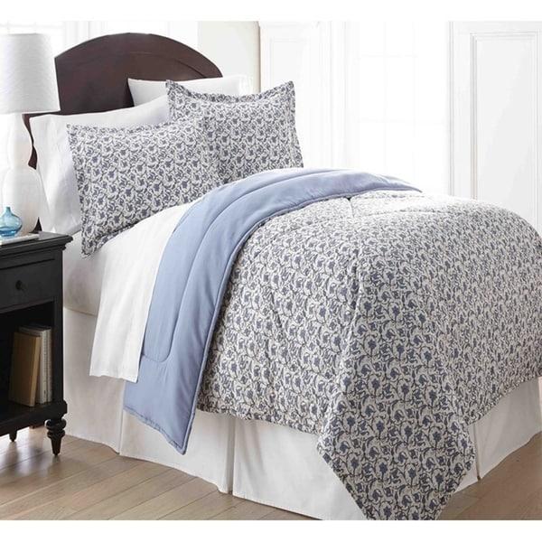 Micro Flannel Jacobean 3-piece Comforter Set