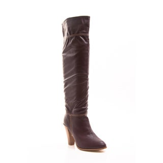 Gomax Women's Prima Donna-01 High Heel Knee-High Boot