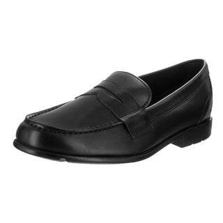 Men's Rockport Classic Loafer Lite Penny Black II Leather