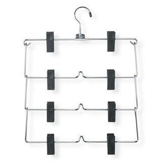 Honey Can Do 4-tier Fold Up Skirt Hanger 2-pack