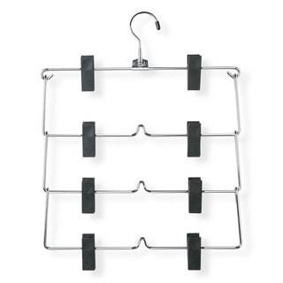 Honey Can Do 4-tier Fold Up Skirt Hanger 2-pack