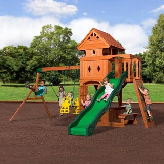 Backyard Discovery Monterey Cedar Swing Set Play Set