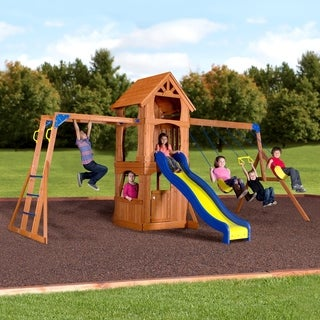 Backyard Discovery Parkway All Cedar Swingset