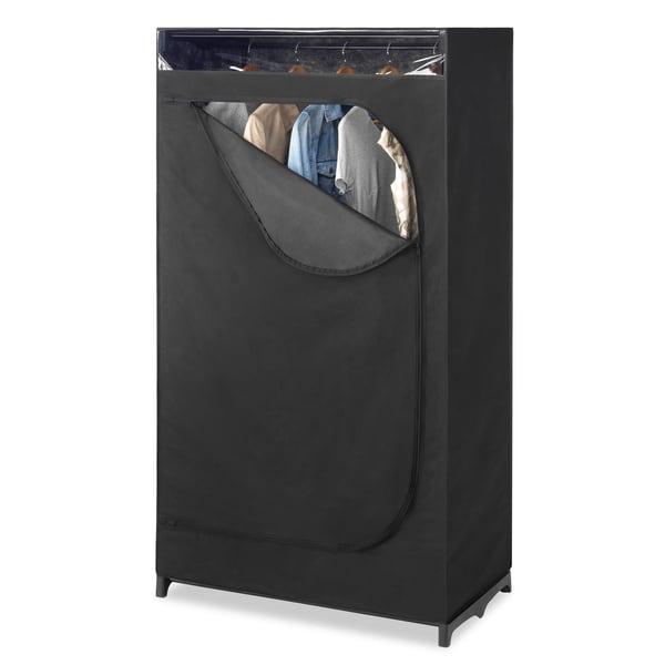 Incroyable Whitmor Black Portable Clothes Closet With See Through.