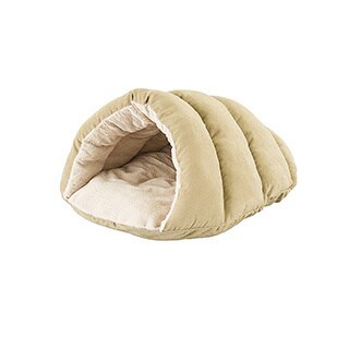Spot Sleep Zone Cozy Faux Suede Cave Pet Bed