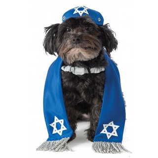 Rubies Yarmulke and Tails Pet Costumes