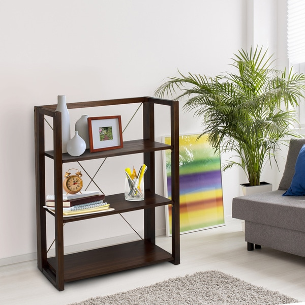 Citiscape Folding Stacking Bookcase