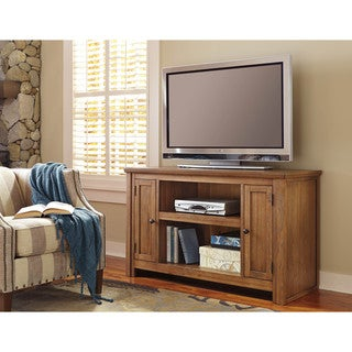 Signature Design by Ashley Macibery Grayish Brown Medium TV Stand
