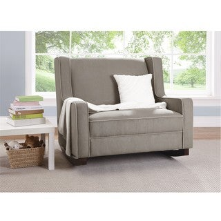 Baby Relax Dark Taupe Hadley Double Rocker