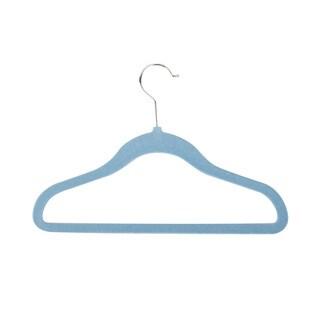 Honey Can Do Blue Kids Velvet Touch Suit Hangers (60-pack)