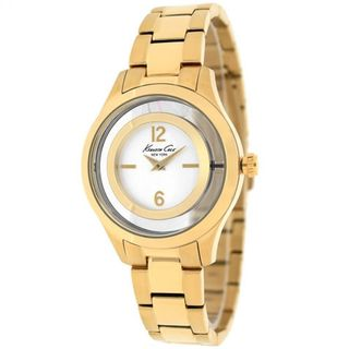 Kenneth Cole Women's 10026946 'Classic' Gold-Tone Stainless Steel Watch