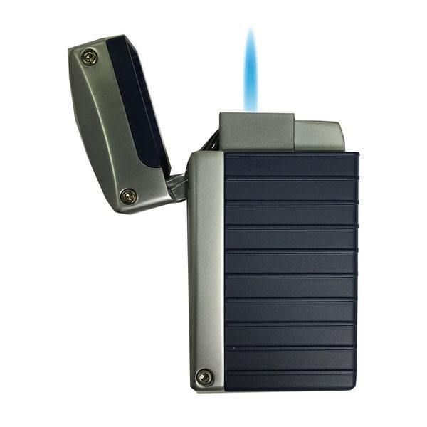 Visol Norfolk Blue Matte Torch Flame Lighter