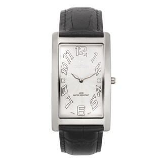 Croton Men's CN307533BSWH Stainless Steel White White Rectangular Watch|https://ak1.ostkcdn.com/images/products/10755360/P17809048.jpg?_ostk_perf_=percv&impolicy=medium