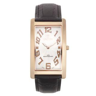 Croton Men's CN307533RGWH Stainless Steel Rosetone Rectangular Watch|https://ak1.ostkcdn.com/images/products/10755361/P17809049.jpg?impolicy=medium