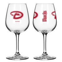 Arizona Diamondbacks 12-ounce Wine Glass Set