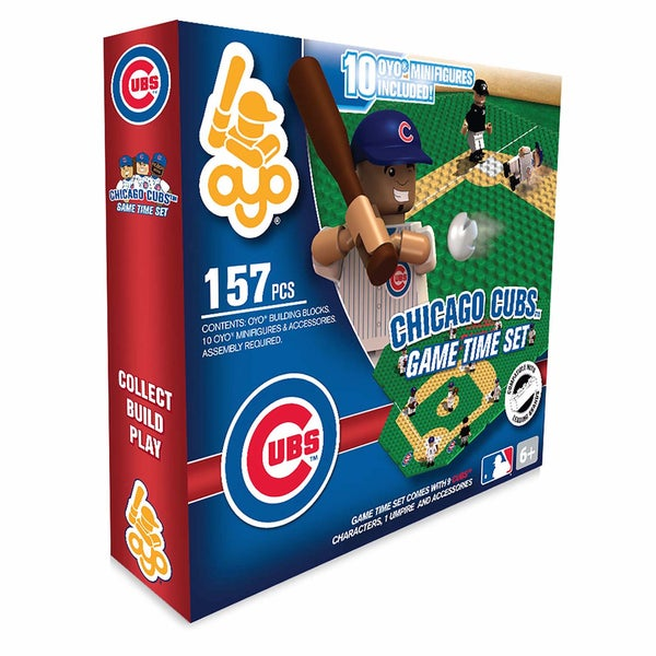 Chicago Cubs MLB 157-Piece Gametime Field Set