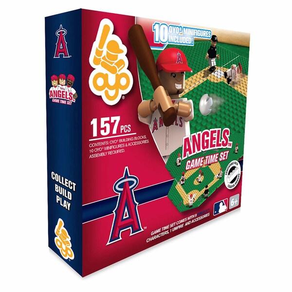 Los Angeles Angels MLB 157-Piece Gametime Field Set