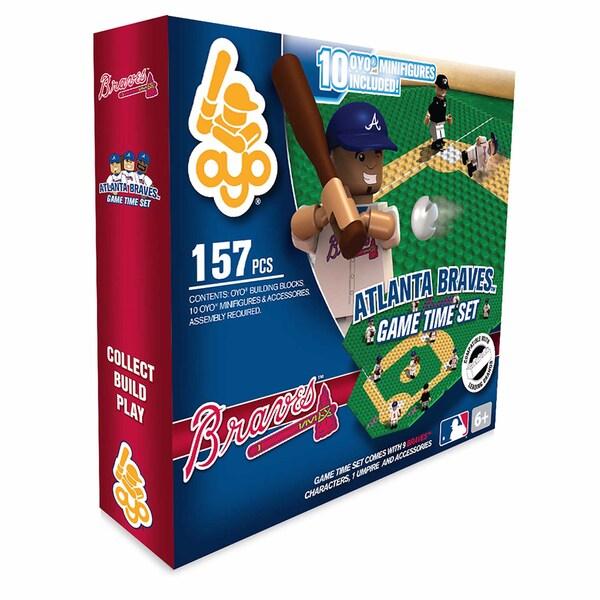 Atlanta Braves MLB 157-Piece Gametime Field Set