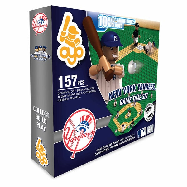 New York Yankees MLB 157-Piece Gametime Field Set