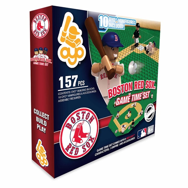 Boston Red Sox MLB 157-Piece Gametime Field Set