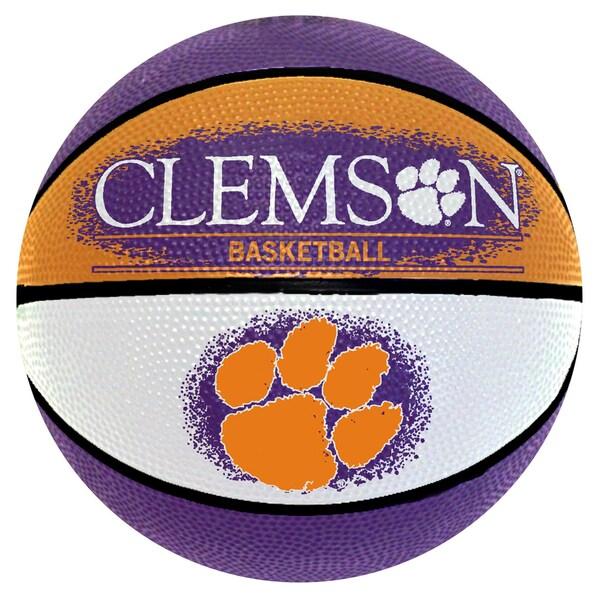 Spalding Clemson Tigers 7-inch Mini Basketball