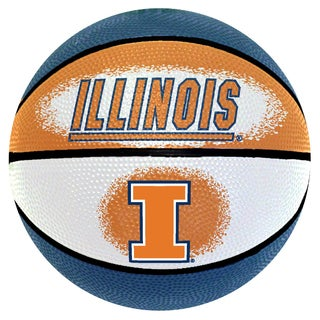 Spalding Illinois Fighting Illini 7-inch Mini Basketball