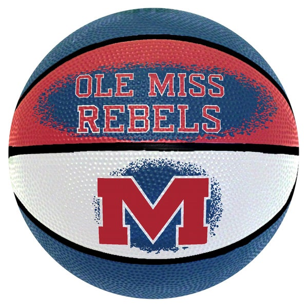 Spalding Ole Miss Rebels 7-inch Mini Basketball