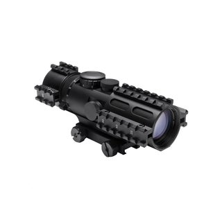 NcStar Tactical 3-Rail Sighting System 3-9x42/Blue Illuminated Mil-Dot/Weaver Mount