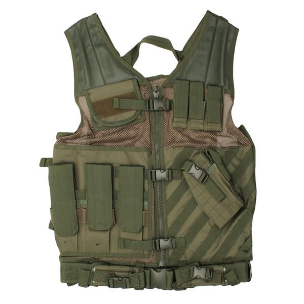 NcStar Tactical Vest Green, XL-XXL+