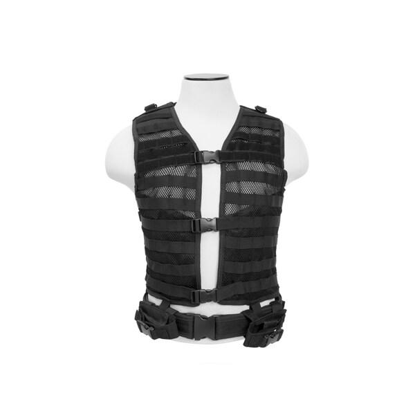 NcStar Molle/Pals Vest Black