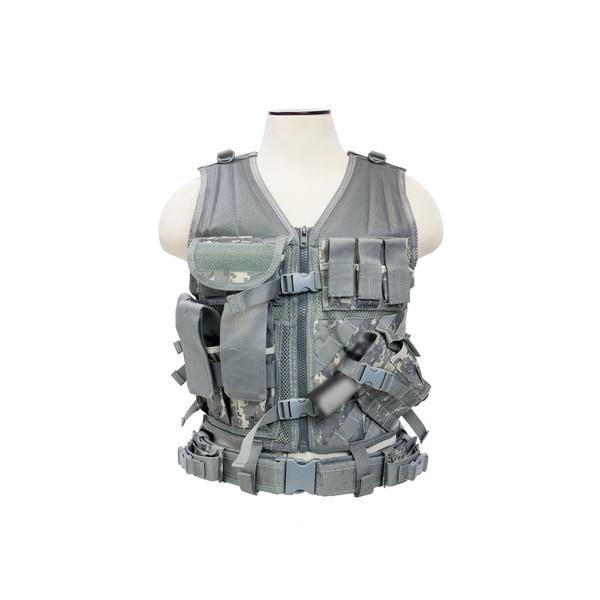 NcStar Tactical Vest Digital Camo, M-XL