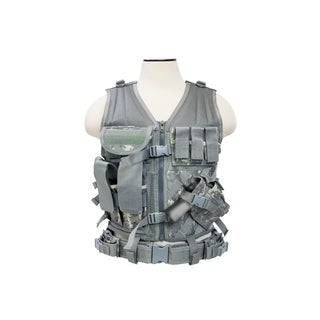 NcStar Tactical Vest Digital Camo, M-XL